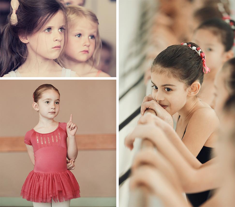 danseuses au cour de danse